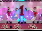Birthday Hall Decoration Ideas Birthday Party Decoration at Shenbaga Hotel and Convention