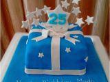 Birthday Ideas for 25 Year Old Male 25th Birthday Cake Blue Star theme 4lb Sri Lanka