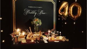 Birthday Ideas for 40 Year Old Man Fabulous 40th Birthday Party 40th Birthday Decorations