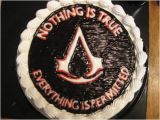 Birthday Ideas for Boyfriend 28th assassins Creed Birthday Cake Notorious Cupcakes
