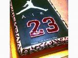 Birthday Ideas for Boyfriend Chicago Homemade Nike Michael Jordan 23 Cake Kids Party Jordan