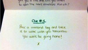 Birthday Ideas for Boyfriend London Woman Wows Her Boyfriend with Treasure Hunt Of Travel