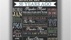 Birthday Ideas for Him 50th 50th Birthday 50th Birthday Board Birthday Gift for Him