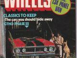 Birthday Ideas for Him Australia March 1977 Vintage Australian Wheels Magazine 40th