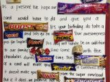 Birthday Ideas for Him Australia Quotes Using Candy Names Quotesgram