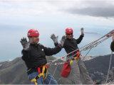 Birthday Ideas for Him Cape town Abseiling Table Mountain Cape town Zzambi