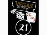 Birthday Ideas for Him In Las Vegas 21st Birthday Invitations Announcements Zazzle