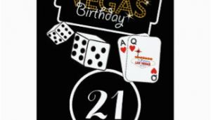 Birthday Ideas for Him In Las Vegas 21st Birthday Invitations Announcements Zazzle