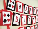 Birthday Ideas for Him In Las Vegas Casino theme Birthday Banner Party Time Casino theme
