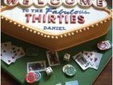 Birthday Ideas for Him In Las Vegas Las Vegas themed Birthday Cake Danny 39 S Birthday themed