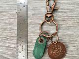 Birthday Ideas for Him Ireland 21st Birthday Gift 1998 Irish Coin Keychain Celtic