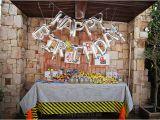 Birthday Ideas for Him Johannesburg ashleigh Rose Photography Zac 39 S Minion Construction Party