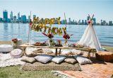 Birthday Ideas for Him Perth Bohemian Picnic Birthday Party Lenzo