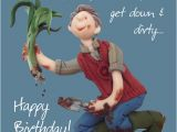 Birthday Ideas for Him Scotland Down Dirty Happy Birthday Card One Lump or Two Cards