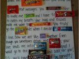 Birthday Ideas for Husband From Baby Anniversary Candy Card I Made for My Husband Crafts