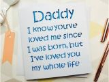 Birthday Ideas for Husband From Baby Daddy Birthday Card Dad Birthday Daddy Card Fathers Day