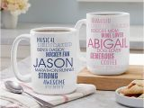 Birthday Ideas for Husband In toronto Personalized Mugs Custom Ceramic Cups