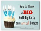 Birthday Ideas for Husband On A Budget How to Throw A 50th Birthday Party On A Small Budget