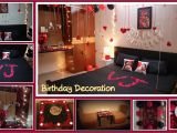 Birthday Ideas for Husband Romantic Birthday Decoration Ideas at Home Surprise Decoration for