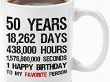 Birthday Ideas for Husband Turning 50 Amazon Com Gifts for Men 50th Birthday Coffee Mug with