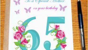 Birthday Ideas for Husband Turning 65 65th Birthday Card Etsy