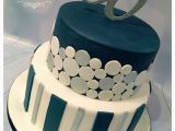 Birthday Ideas for Male 55 50th Birthday Cake Contemporary Design In Masculine Blue