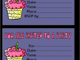 Birthday Invitation Cards Printable Free Printable Birthday Invitation