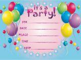 Birthday Invitation Cards Printable Printable Birthday Invitations so Pretty Invitations and