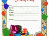 Birthday Invitation Cards Templates Microsoft Office Templatesbirthday Invitation Card