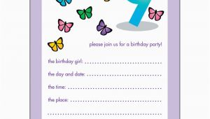 Birthday Invitation for 10 Years Old Girl 10 Childrens Birthday Party Invitations 9 Years Old Girl