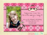 Birthday Invitation for 2 Year Girl 3 Years Old Birthday Invitations Wording Free Invitation