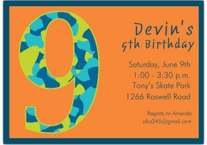 Birthday Invitation For 7 Years Old Boy Cards Year Awesome