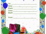 Birthday Invitation Layouts Birthday Invitation Templates Free Invitation Ideas
