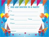 Birthday Invitation Layouts Unique Ideas for Kids Birthday Party Invitations Ideas