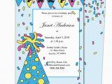 Birthday Invitation Letter for Kids Birthday Party Invitation Sample Birthday Party Invitation