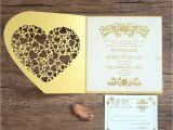 Birthday Invitation Letter In English Luxury Golden Wedding Invitation Card Printing English