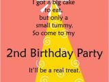 Birthday Invitation Message for Friends 2nd Birthday Invitations and Wording 365greetings Com