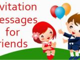 Birthday Invitation Message for Friends Birthday Sms In Hindi In Marathi In English for Friend In