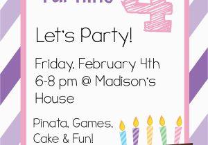 Birthday Invitation Templates Free Printable Free Printable Birthday Invitation Templates