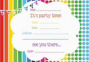 Birthday Invitation Templates Free Printable Free Printable Birthday Invitations Online Bagvania Free