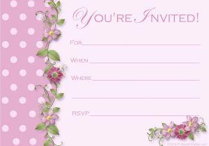 Birthday Invitation Templates Free Printable Free Printable Party Invitations Templates Party