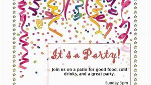 Birthday Invitation Templates Free Word Birthday Party Invitation Template Word Beepmunk