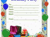 Birthday Invitation Templates Word 50 Free Birthday Invitation Templates You Will Love