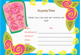 Birthday Invitation Templates Word Birthday Party Invitations Microsoft Word Templates