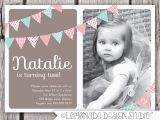 Birthday Invitation Wording for 2 Year Old 2 Years Old Birthday Invitations Wording Drevio