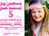 Birthday Invitation Wording for 5 Year Old 5 Years Old Birthday Invitations Wording Free Invitation
