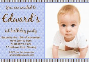 Birthday Invitation Wording for 5 Year Old Boy Bday Invitation Card for 1 Year