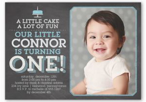 Birthday Invitation Wording For 5 Year Old Boy Little Cake First Shutterfly