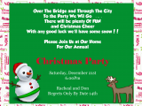 Birthday Invitation Wording Funny Funny Christmas Party Invitation Wording Cimvitation