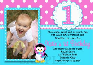 Birthday Invitation Wordings For 1 Year Old Wording